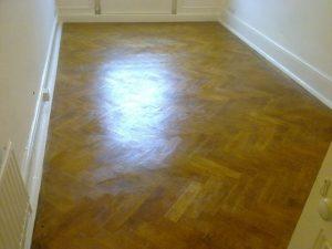 Parquet flooring restored