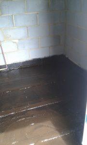 preparing flooring